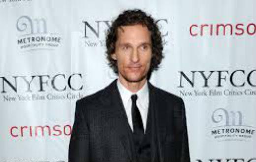 L'attore del mese Matthew McConaughey