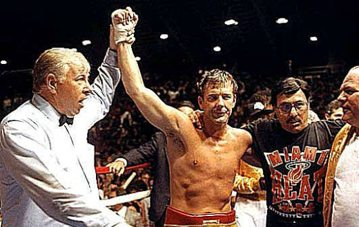 Mikey Rourke a Mosca  sul ring