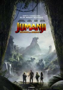 Jumanji benvenuti nella giungla - poster - dreamingcinema
